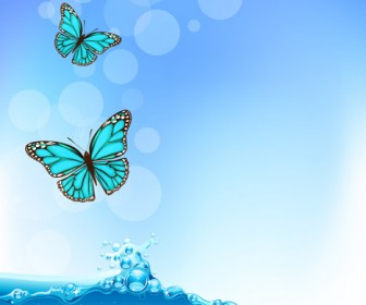 Butterfly and Water