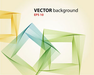 Abstract Vector Line Background