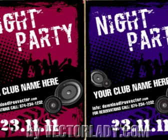 Flyer Party Card