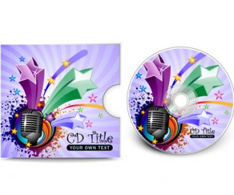 Vector CD Cover Template